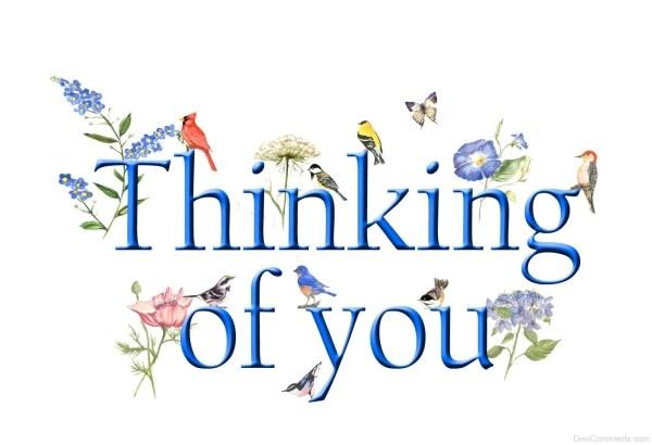 thinking of