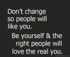 Image result for Be yourself