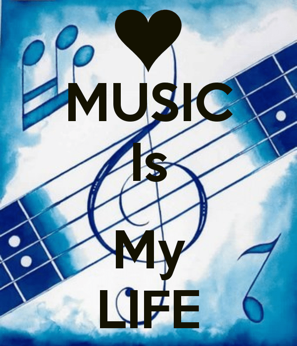 Image Of Music Is My Life DesiComments Com
