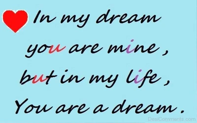 My Life My Love Dream You Lyrics My Are