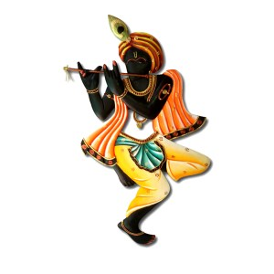 Krishna Flute Wall Hanging Hand Carved