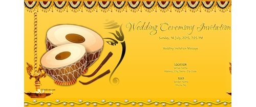 Online Indian Wedding Invitation Cards Creation Free