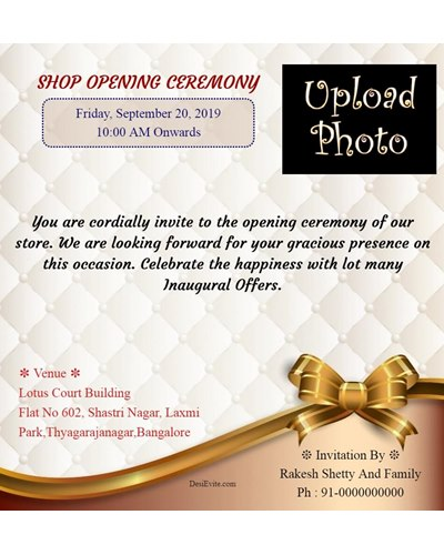 free office inauguration opening