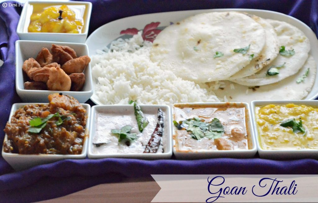 Goan thali a simple goan lunch menu desi fiesta lets move on to the simple goan meal recipes check out the blogging marathon page for the other blogging marathoners doing bm39 forumfinder Gallery