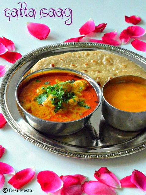 Yogurt based gravy / Rajasthani gravy