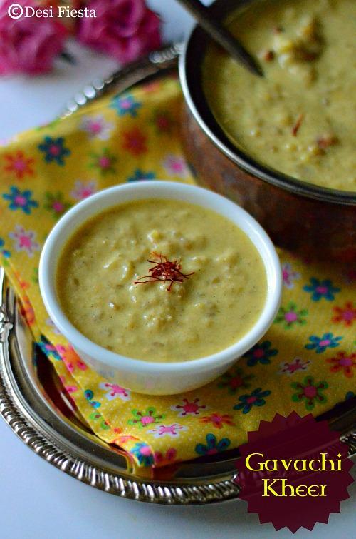 recipe: gavachi kheer recipe [10]