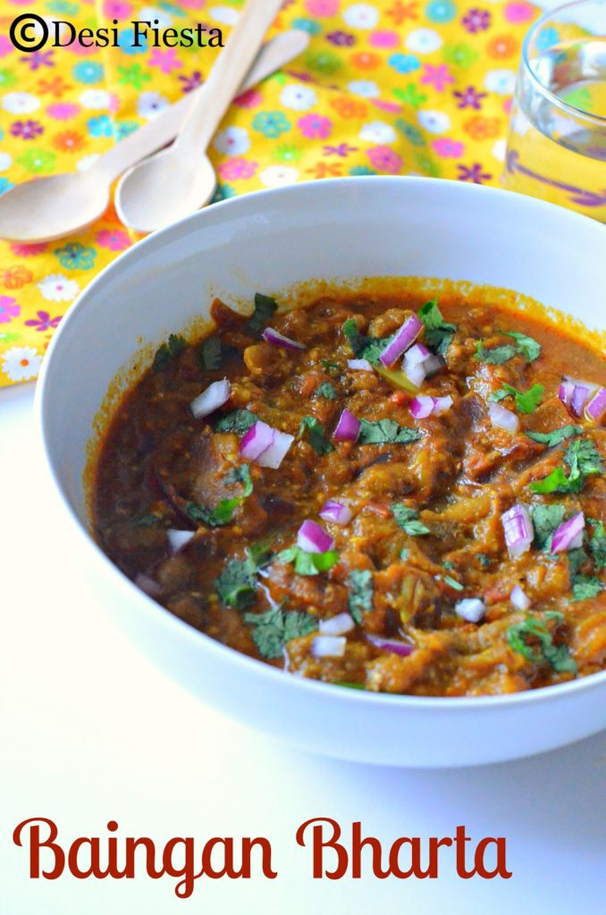 how to make baingan bharta