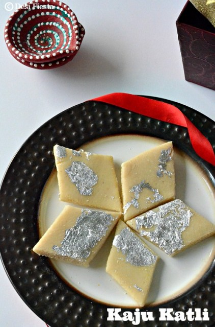 Kaju Katli Recipe |Kaju Burfi - Indian Festival Sweets ...