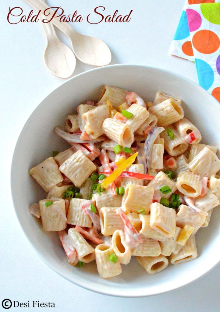 Thousand Island Pasta Salad