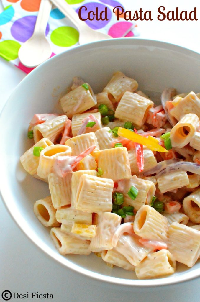 Top 28 Cold Pasta Salad Ingredients How To Make A