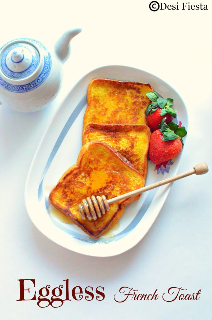 how to cook french toast without eggs