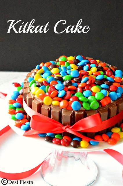 Eggless Vanilla Birthday Cake Recipe