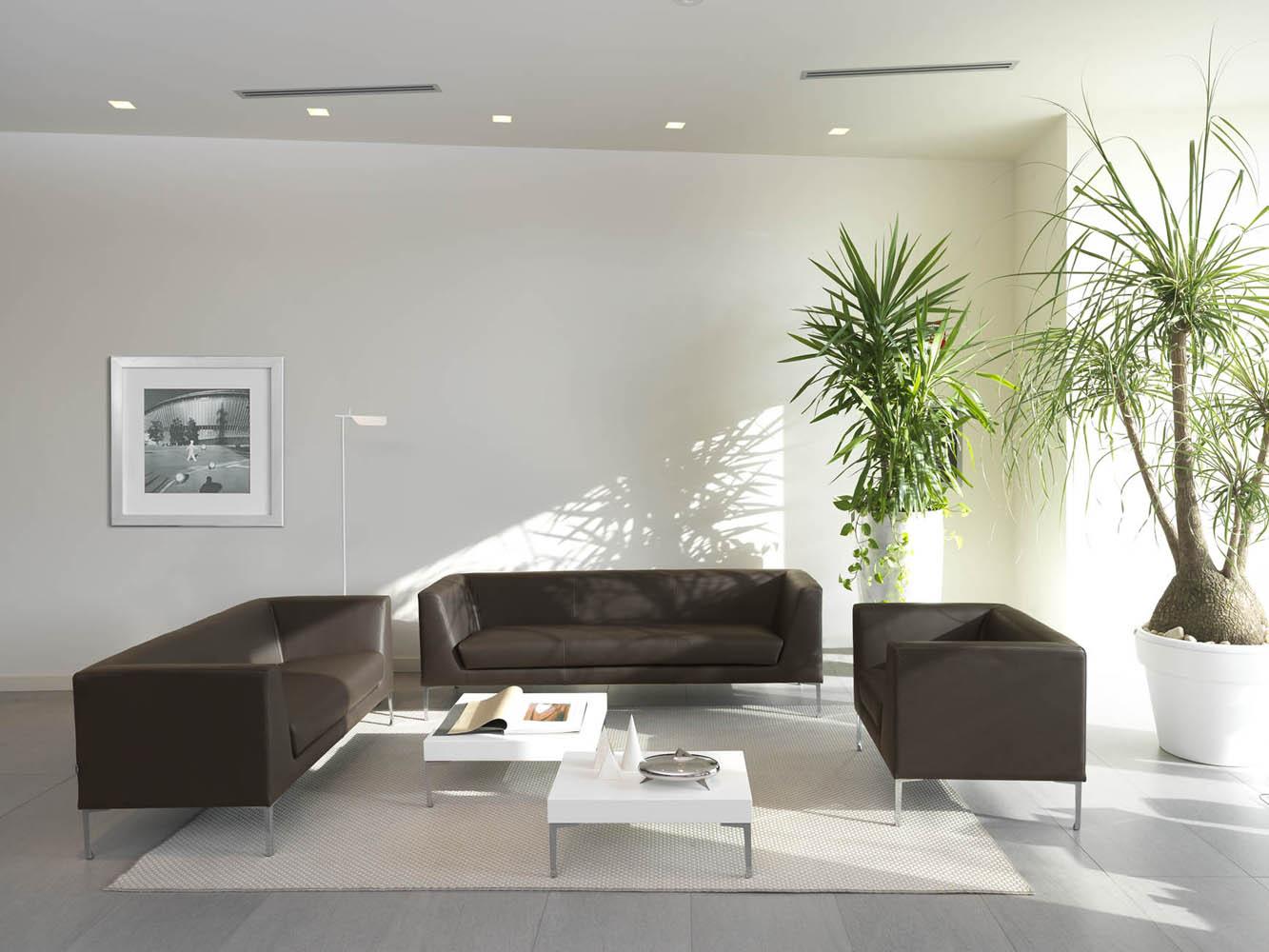 Art.DIV05 - Divano d'attesa disponibile a 2 o 3 posti, ed in diverse finiture e rivestimenti (VAGHI)