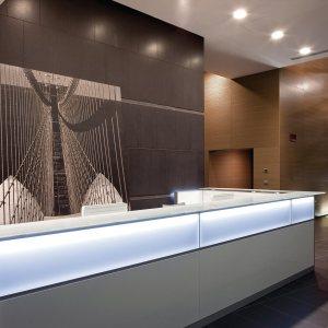 Art.REC06 - Reception a led, disponibile in diverse finiture e dimensioni (DVO)
