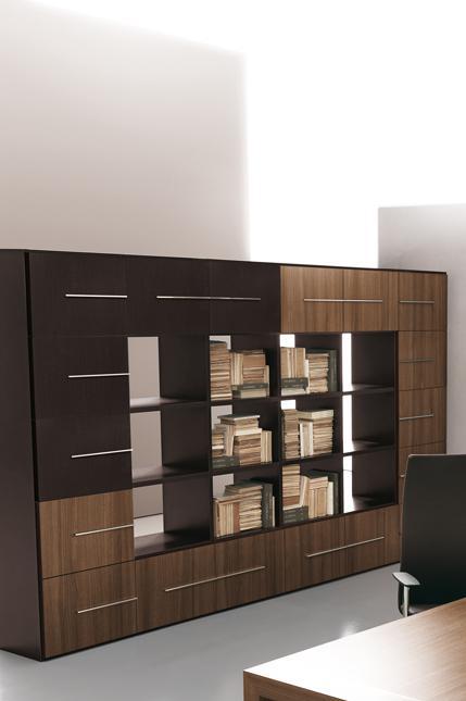 Art.CONT07 - Mobile alto, personalizzabile, disponibile in diverse dimensioni e finiture (OFFICE&CO)