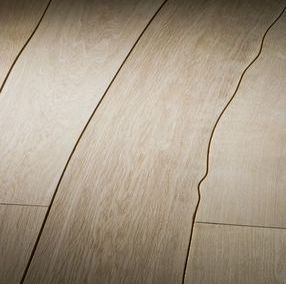 Wood flooring in the shape of the tree  Design4