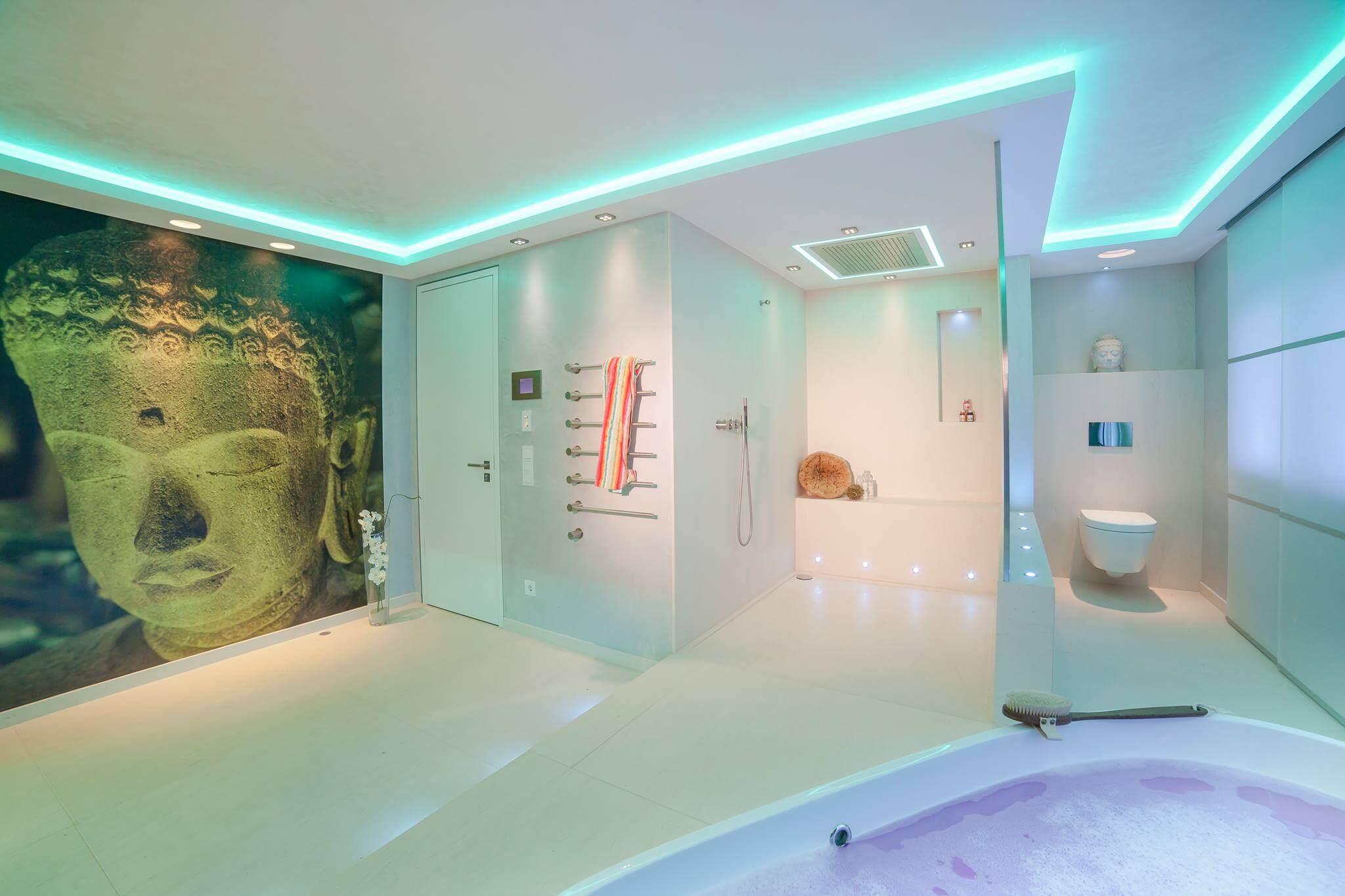 Wohnrume und Lichtbad Vom Reihenhaus zum exklusiven Wohntraum