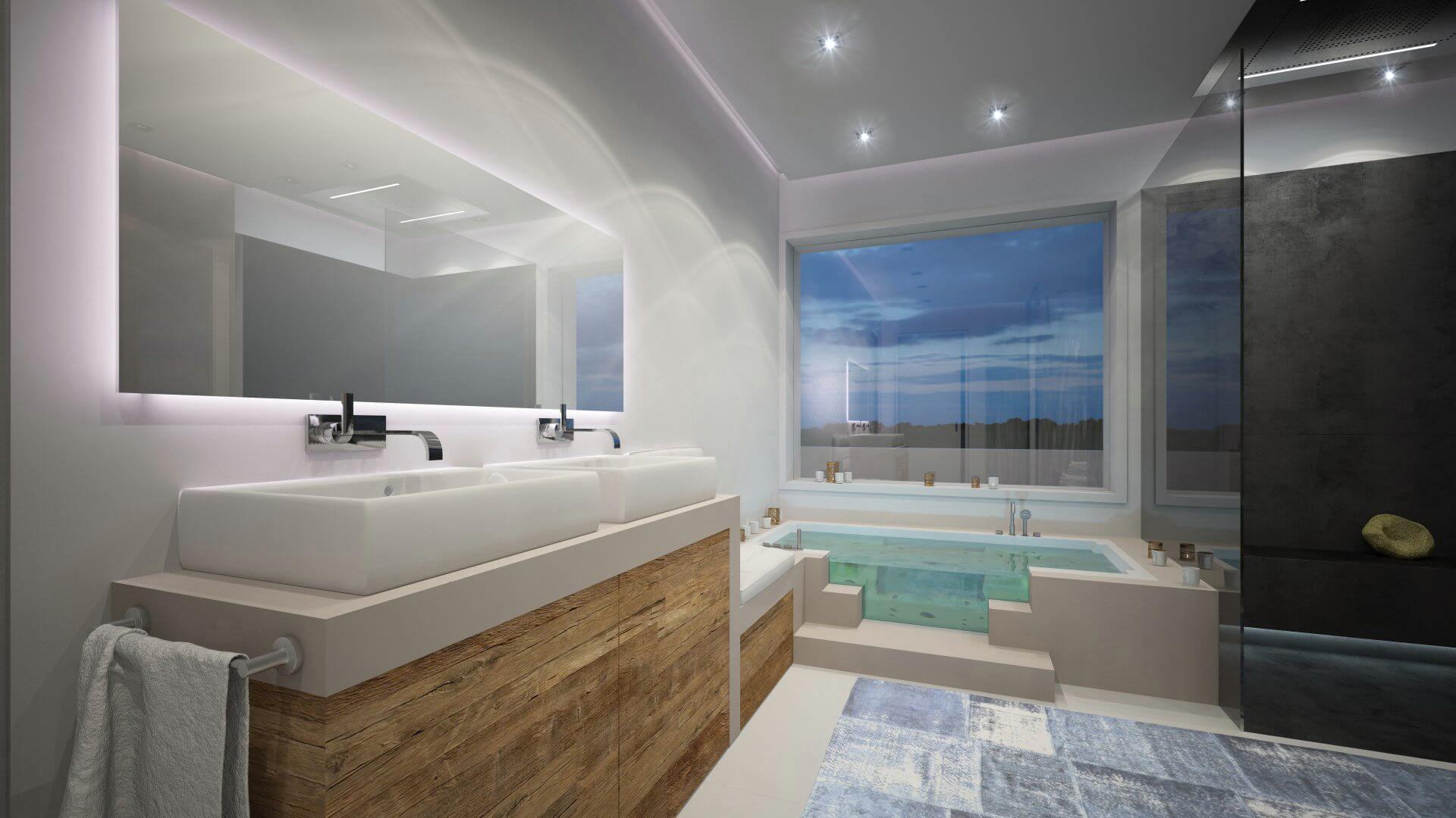 Moderne Badgestaltung mit dem Experten Torsten Mller Bad