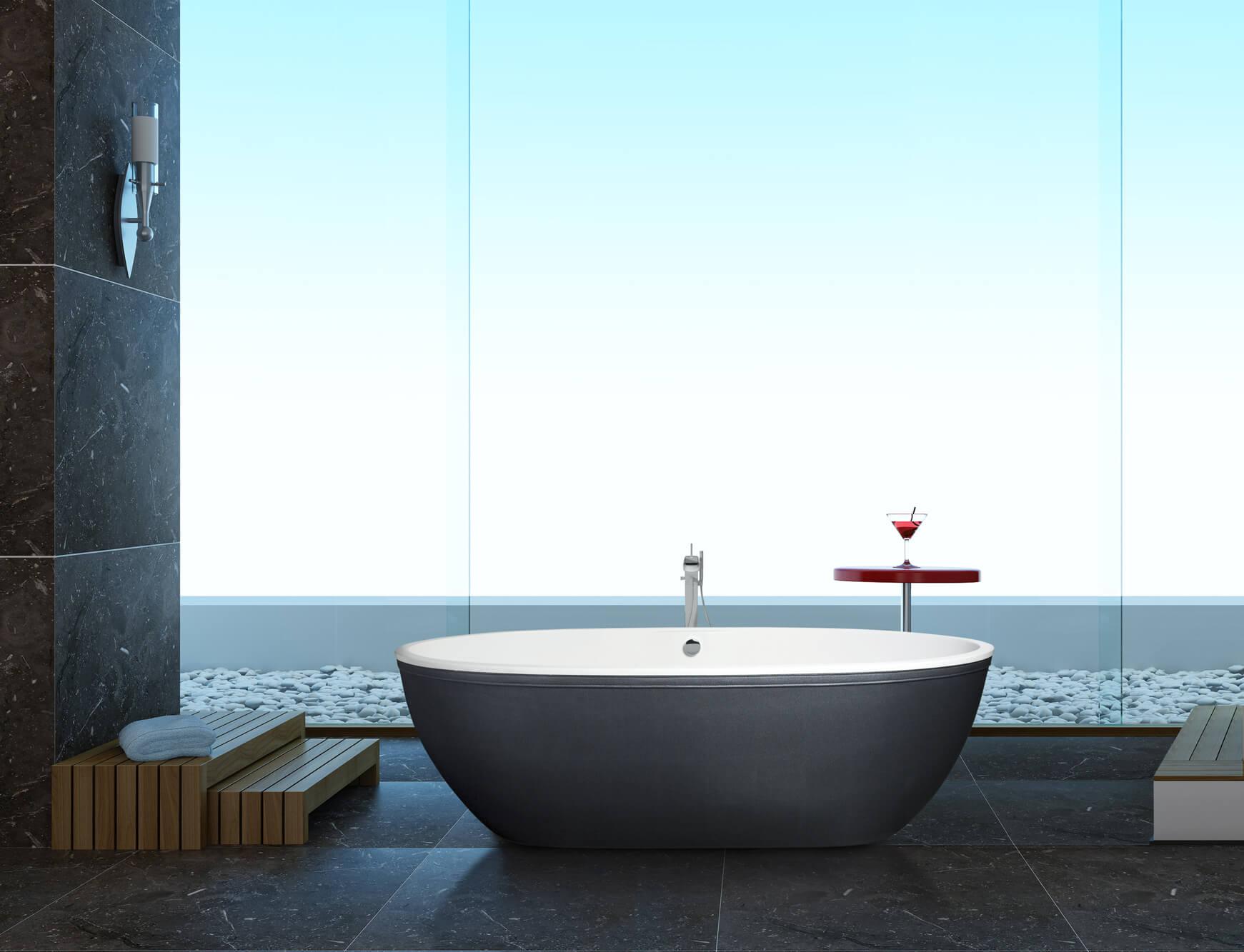 Luxusbadewanne kaufen Aquamass als neuer Mastab