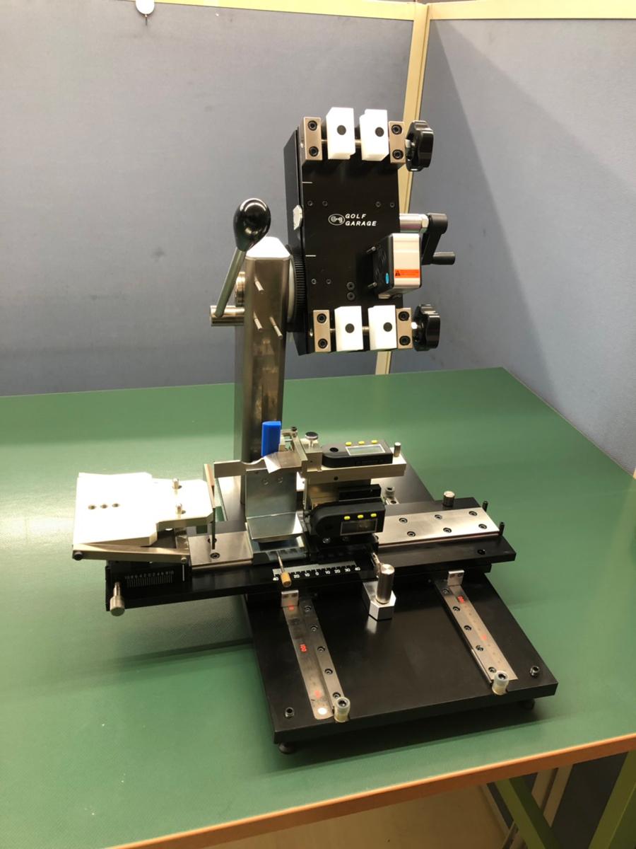 ロフト・ライアングル測定器(ゴルフギャレーヂ製)