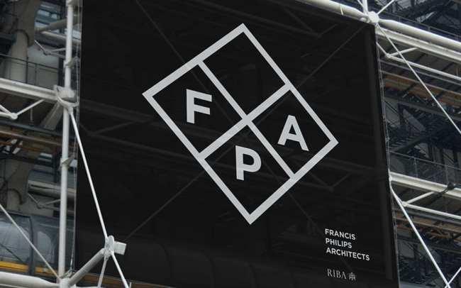 Francis Philips Architects logo design