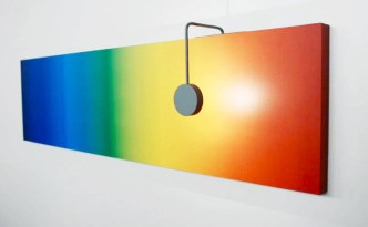 Kinetic Sunrise-Sunset Lamp by Lithuanian designer Barbora Adamonyte