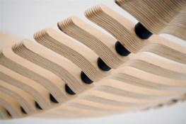 FLEX WOODEN HAMMOCK by Australian industrial designer Adam Cornish (© Adam Cornish)