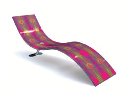 KX-VEKTO Chaise Longue-Lounger-Daybed by Karim Rashid (2005) from AITALI (Copyright: © Karim Rashid, AITALI)