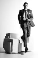 GIULIO CAPPELLINI Portrait with TRON Armchair - Copyright©: Dror Benshetrit (Studio Dror), CAPPELLINI, DISNEY, DISNEY CONSUMER PRODUCTS (Photo by Photo Ornella Sancassani - Elle Decor Italia)