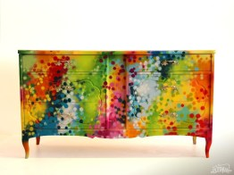 SARAH'S FURNITURE Collection - Graffiti-Painting-Artwork on Furniture by artist DUDEMAN (2012) - Copyright©: Dudeman (Nicholas Sinclair)