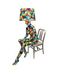 SITTING DIAMOND Mannequin Floor Lamp by Jimmie Karlsson & Martin Nihlmar from JIMMIE MARTIN (Copyright: © JIMMIE MARTIN, Jimmie Karlsson, Martin Nihlmar)