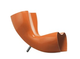 FELT Chair-Chaise Longue-Lounger by Marc Newson (1989-1993) from CAPPELLINI (Copyright: ©Marc Newson, CAPPELLINI)