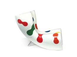 FELT LIMITED EDITION Chair-Chaise Longue-Lounger by Marc Newson (Limited Edition, 99 Pieces, 2005) from CAPPELLINI (Copyright©: Marc Newson, CAPPELLINI)