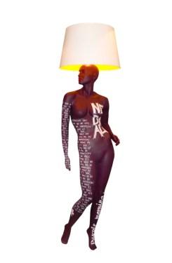 PURPLE Mannequin Floor Lamp by Jimmie Karlsson & Martin Nihlmar from JIMMIE MARTIN (Copyright: © JIMMIE MARTIN, Jimmie Karlsson, Martin Nihlmar)