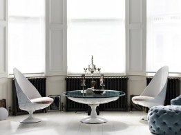 White Armchairs & Coffee Table by Jean-Francois Buisson (photo by Shootfactory)