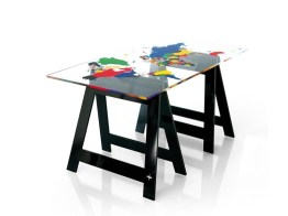 MAPPY Home Office Desk-Dining Table by Jean-Charles de Castelbajac from ACRILA (Copyright: © Jean-Charles de Castelbajac, ACRILA)