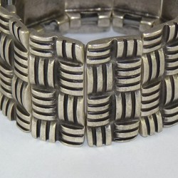 Lunamor – Armreif Streifen breit
