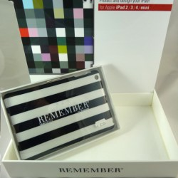 "iPad Case ""Black & White"" – Remember"