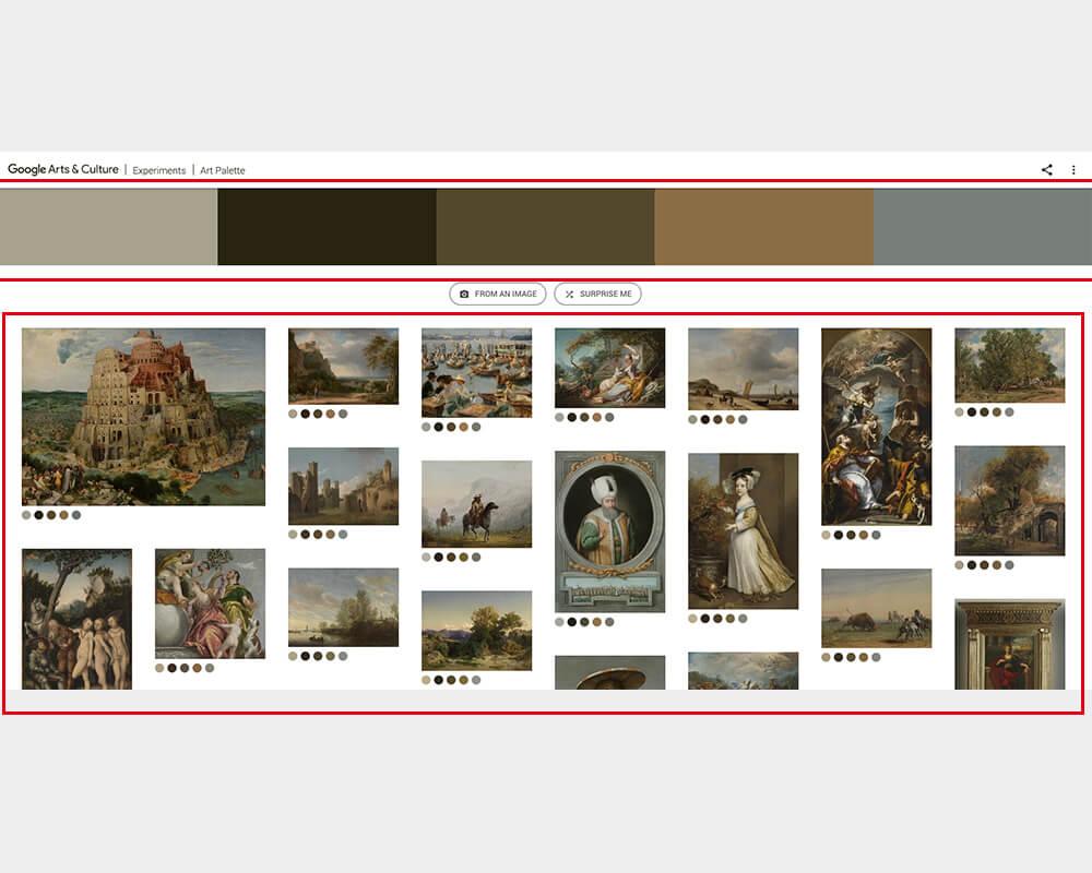 Google Art Palette