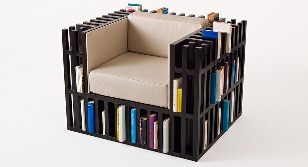 Bibliochaise la poltrona libreria  Design Miss