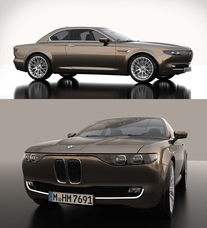 BMW CS Vintage Concept David Obendorfer  Design Miss