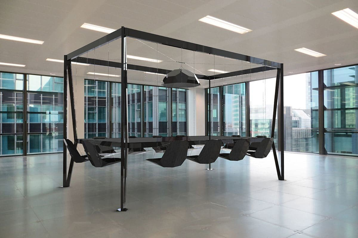 Swing Table altalene in sala da pranzo  Design Miss