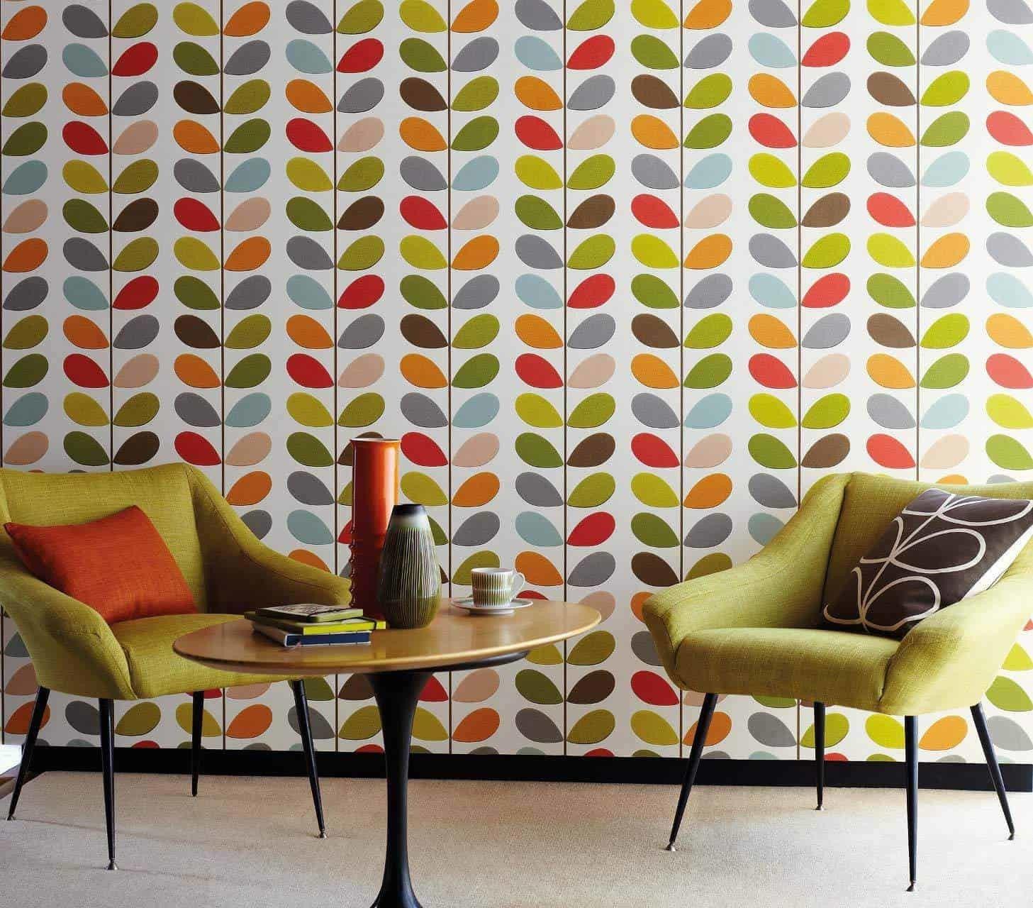 carta da parati degli anni 70. Arredare Casa Con La Carta Da Parati Anni 70 Design Miss