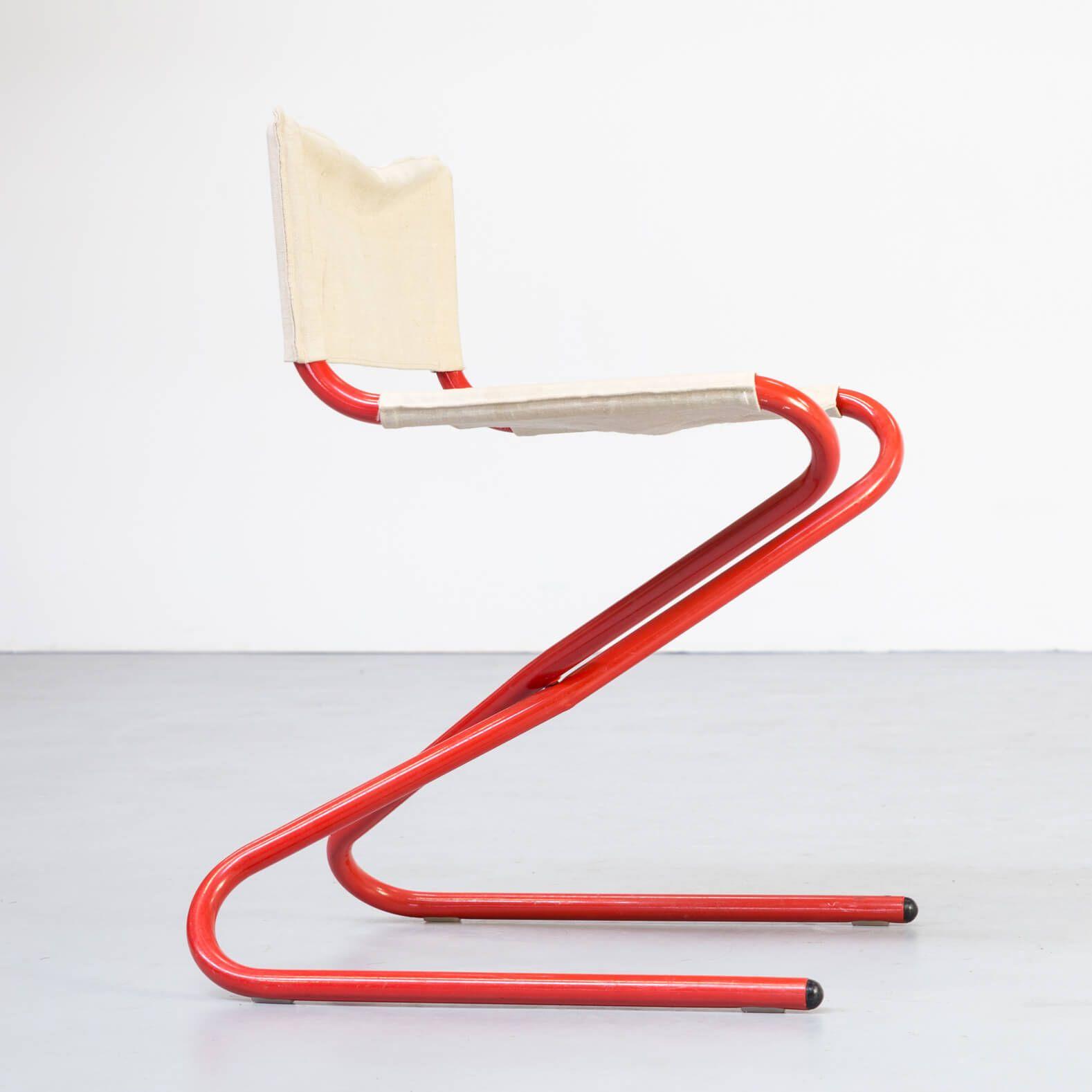 vintage z chair foldable by erik magnussen for torben orskov 1960s