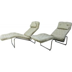 Ikea Lounge Chair Kids Throne Pair Of Kroken Chairs In Beige Cotton Christer Blomquist 1970s