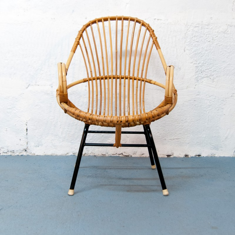 metal armchair 7 chairs photography large vintage rattan and 1960s design market designer furniture