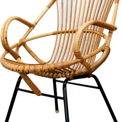 Metal Armchair Best Potty Training Chair Large Vintage Rattan And 1960s Design Market Previous Next
