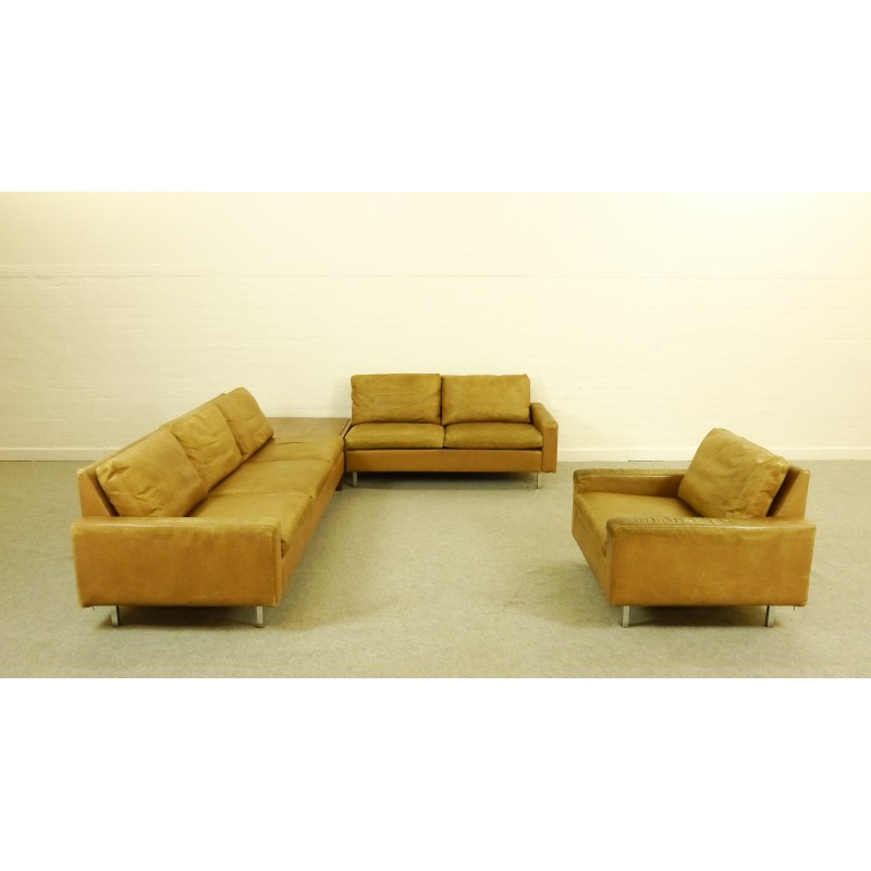70s sofa country living sofas and chairs huge lounge by kaufeldde sede in leather with armchair