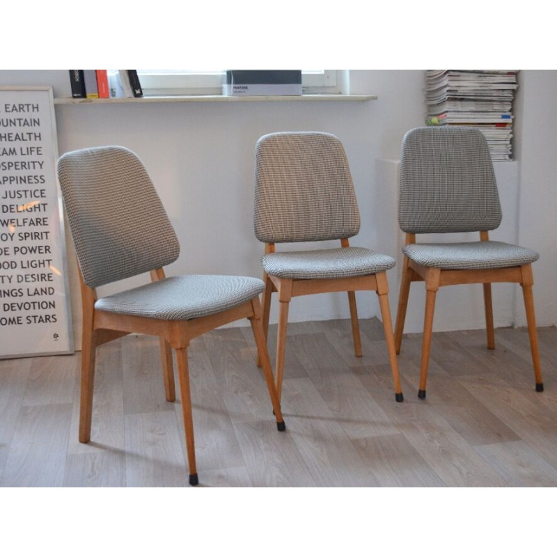 danish dining chair covers wedding hull with grey tissu 1960s design market