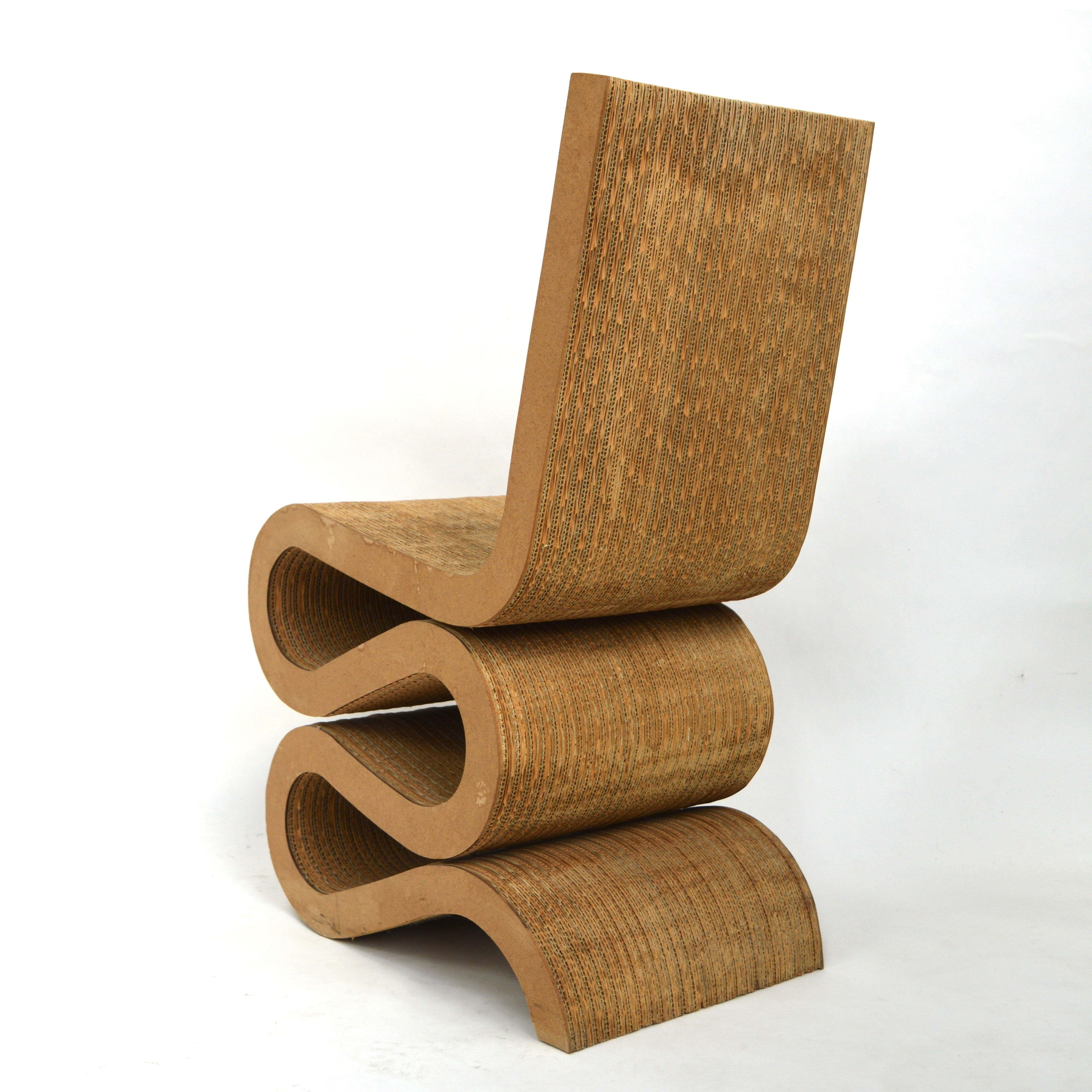 Vintage Wiggle Chair by Frank Gehry  1970s  Design Market